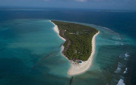 Maledivy letecky na 9-16 dnů, plná penze