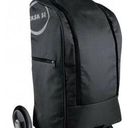 Nákupní taška na kolečkách Buddy, černá