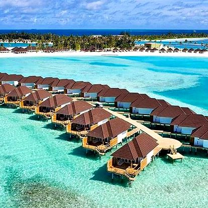 Maledivy letecky na 8-16 dnů, plná penze