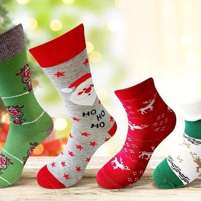 Bláznivé vánoční ponožky pro pány i dámy