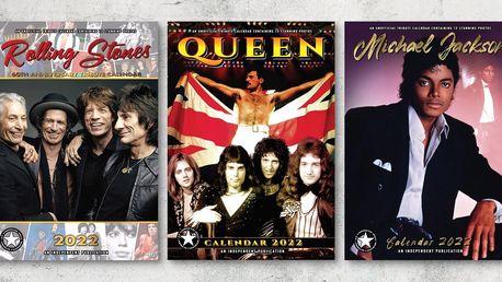 Kalendáře na rok 2022: AC/DC, Queen i další kapely