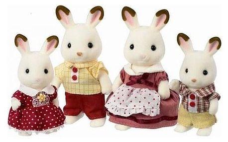 """Sylvanian families 4150 rodina """"Chocolate"""" králíků"""