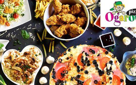Otevřené vouchery na jídlo i pití od Ogara