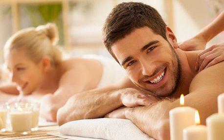 Relaxační masáž pro pár na 60-90 minut