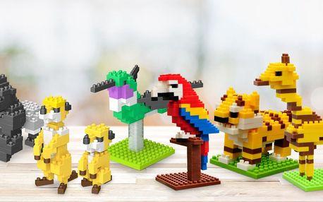 Stavebnice Nanoblock pro děti od 10 let: 31 zvířat