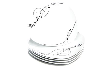 Mäser Sada mělkých talířů Londra 25 cm, 6 ks