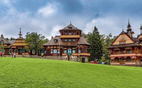 Pobyt v Jurkovičově chatě Maměnka na Pustevnách