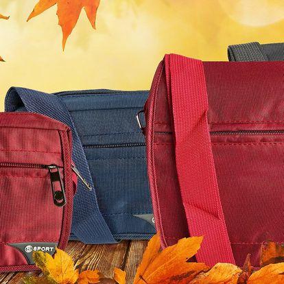 Praktická unisexová taška: 2 rozměry a 3 barvy
