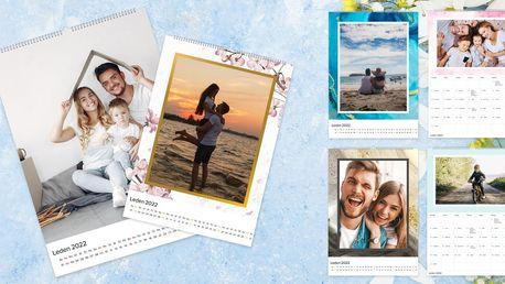 Nástěnné fotokalendáře formátu A3 nebo A4