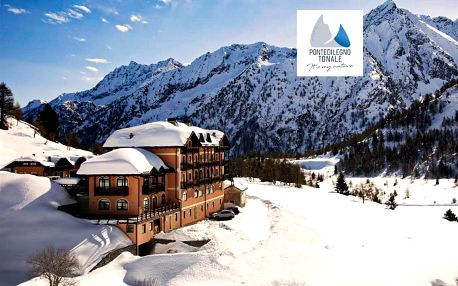 Hotel Locanda Locatori - 5denní lyžařský balíček se skipasem a dopravou v ceně, Passo Tonale