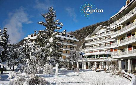 Hotel Urri - 5denní lyžařský balíček se skipasem a dopravou v ceně, Aprica