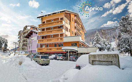 Hotel Derby – 6denní lyžařský balíček se skipasem a dopravou v ceně, Aprica