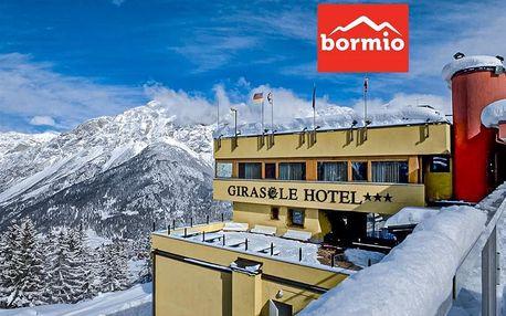 Hotel Girasole - 5denní lyžařský balíček se skipasem a dopravou v ceně, Alta Valtellina