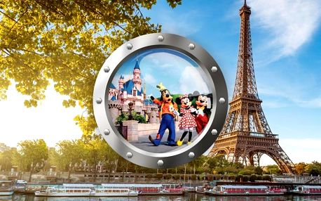 Za zábavou do Paříže a Disneylandu
