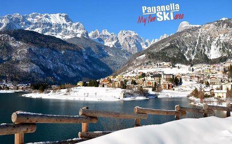 Hotel Aurora - 5denní lyžařský balíček se skipasem a dopravou v ceně, Paganella