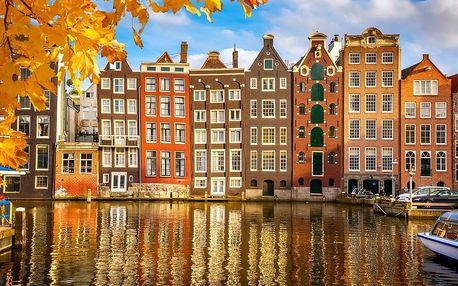 Nizozemsko - Amsterdam autobusem na 3 dny