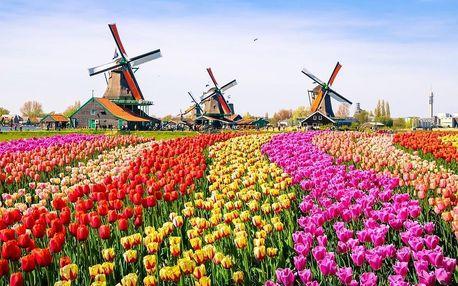 Nizozemsko - Amsterdam autobusem na 4 dny, snídaně v ceně