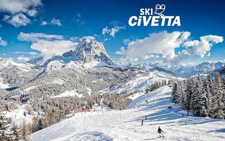 Hotel Savoia – 5denní lyžařský balíček se skipasem a dopravou v ceně, Dolomiti Superski