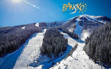 Hotel Maria Antoaneta – 7denní lyžařský balíček se skipasem a dopravou v ceně, Pirin