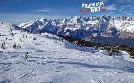 Hotely Paganella - různé hotely - 5denní lyžařský balíček, Paganella