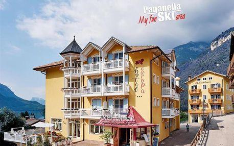 Hotel Europa - 5denní lyžařský balíček se skipasem a dopravou v ceně, Paganella