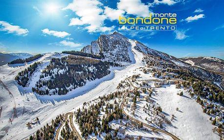 Hotel Augustus - 5denní lyžařský balíček se skipasem a dopravou v ceně, Monte Bondone