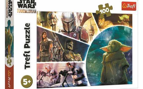 Trefl Puzzle The Mandalorian Baby Yoda, 100 dílků