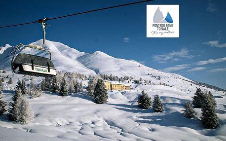 Hotel La Mirandola - 5denní lyžařský balíček se skipasem a dopravou v ceně, Passo Tonale