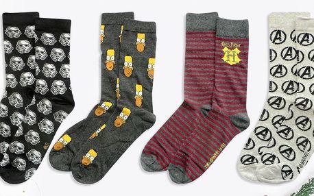 Ponožky s motivy superhrdinů i komiksů