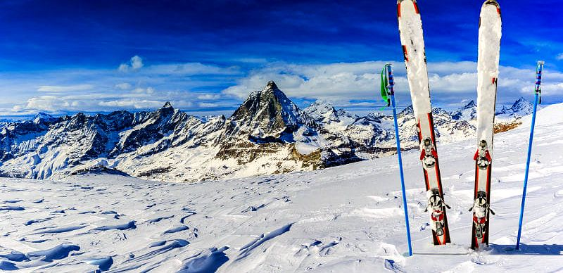 Vyražte lyžovat do Alp