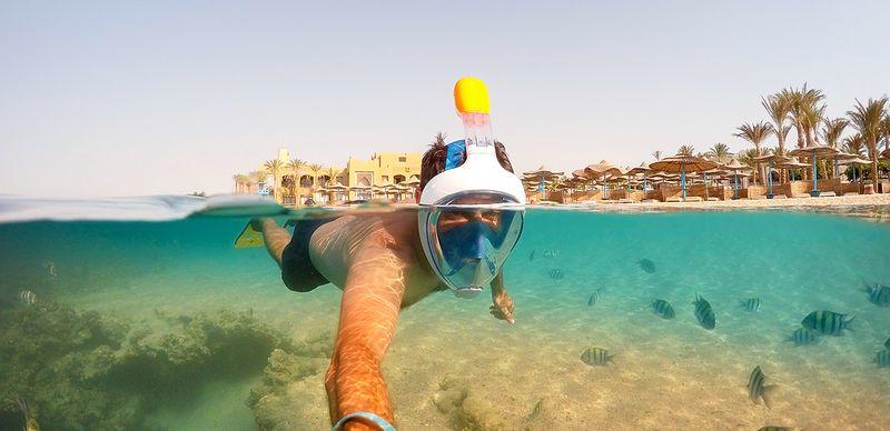 Šnorchlování a potápění v Egyptě: Tipy a TOP lokality